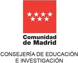 Logotipo de la Consejería de Educación e Investigación de la Comunidad de Madrid