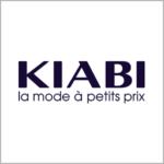 """Logo de Kiabi y el texto """"la modé à pettits prix"""""""